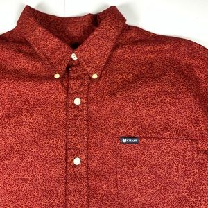 Chaps Button Down Dress Shirt Mens Size XL